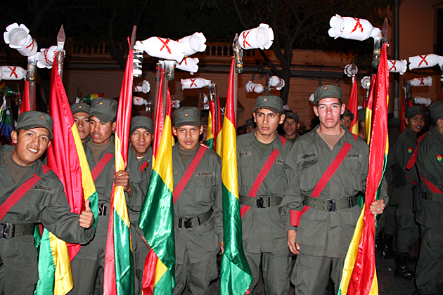 Military Sucre Bolivia