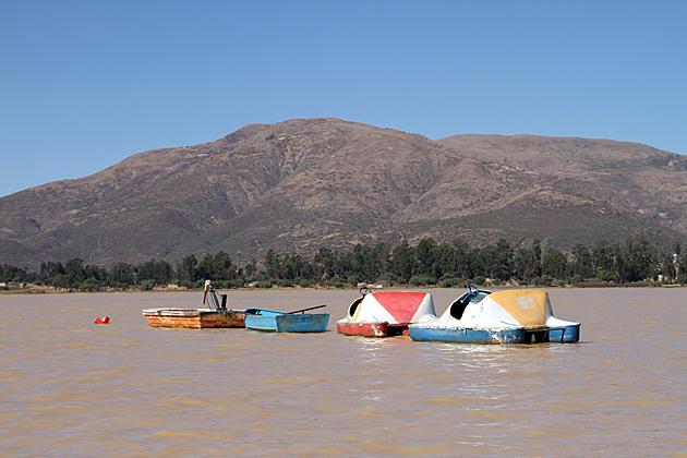 Boats Bolivia