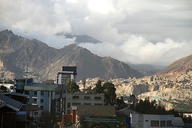 Clouds La Paz