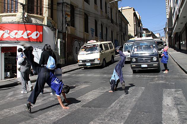 Street Children La Paz