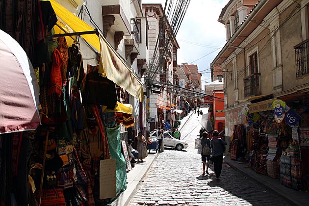 Tourist Street La Paz