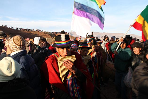 Bolivian Flute