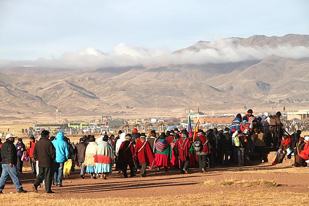 Hiking Tiwanaku