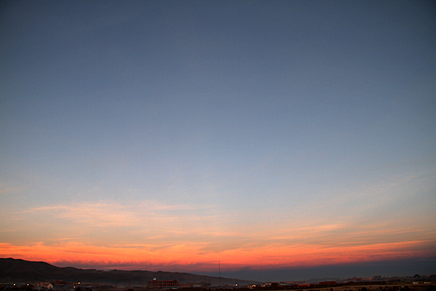 Hint of Sunrise