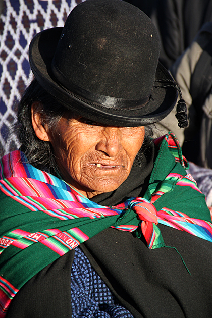 Tiwanaku Cholita