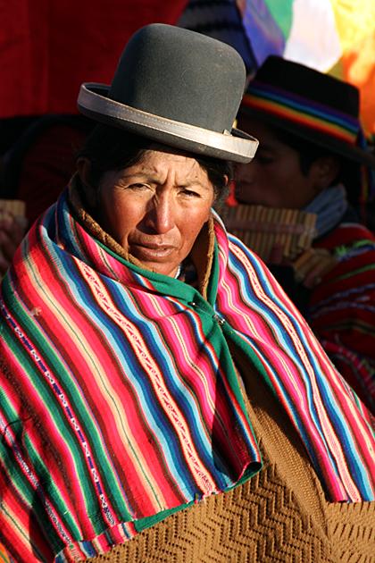 Woman Bolivia