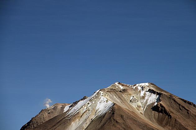Active Volcano Bolivia