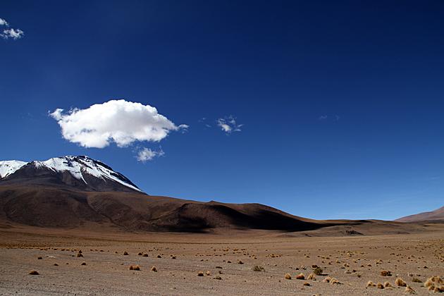 Clouds Desert Bolivia