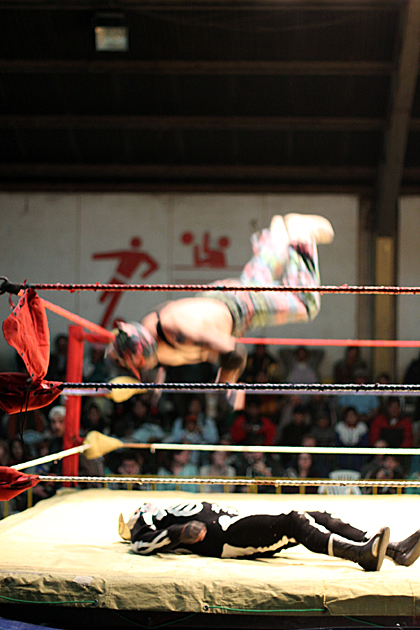 Flying Wrestle