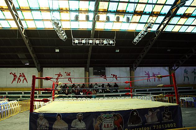 Wrestling El Alto