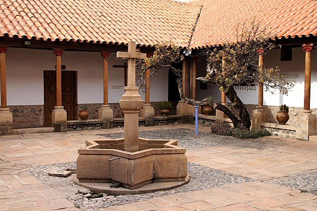 Convent Cout Yard