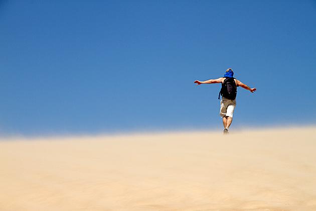 Balancing On Sand