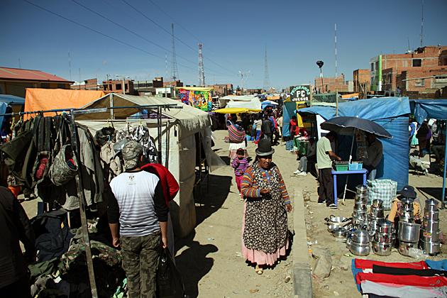 Cholita Shopping