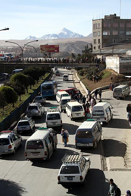 Traffico El Alto