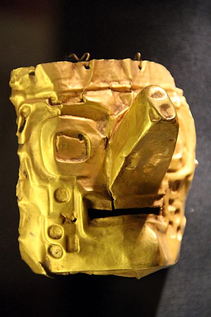 Gold Mask Inca