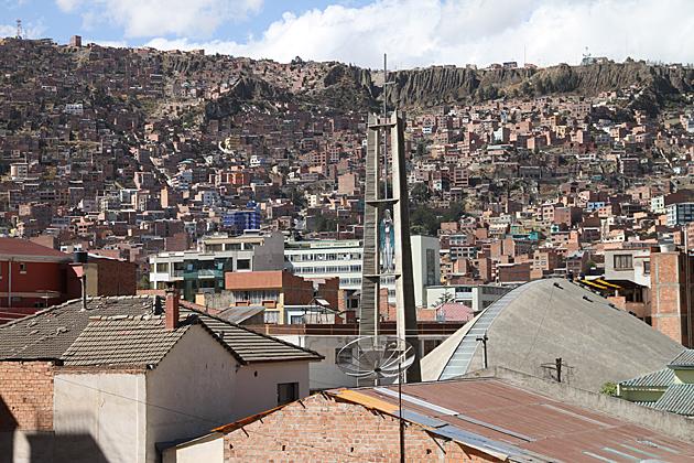 Weird La Paz Architecture