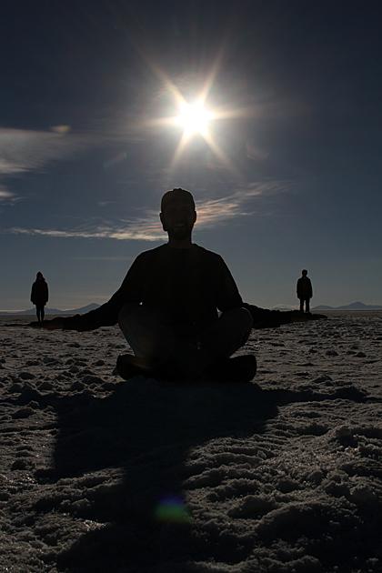 Salt Buddha