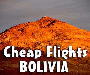 Flights Bolivia