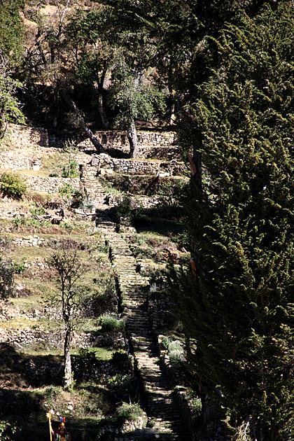 Stone Stairs Isla Del Sol