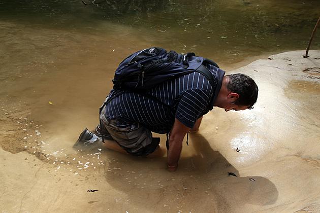 Stuck in Quicksand