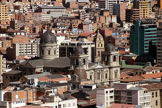 Cathedral La Paz Bolivia