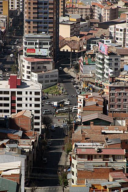 Traffic La Paz