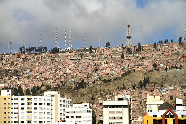 Eifel Towerl La Paz