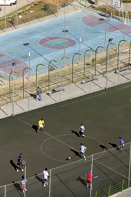 Futbol La Paz Bolivia