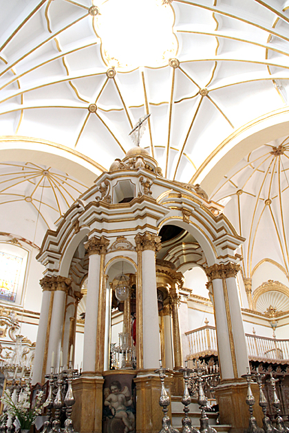 Inside Sucre Church