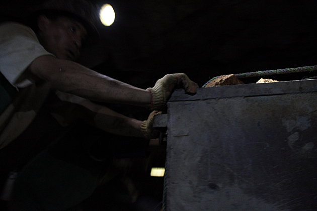 Hard Working Miner
