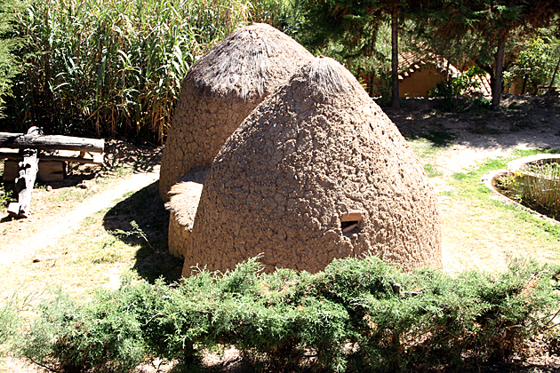 Sucre Straw Huts