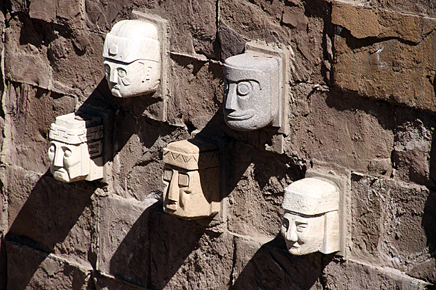 Inca Faces