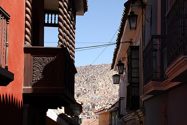 Old Town La Paz