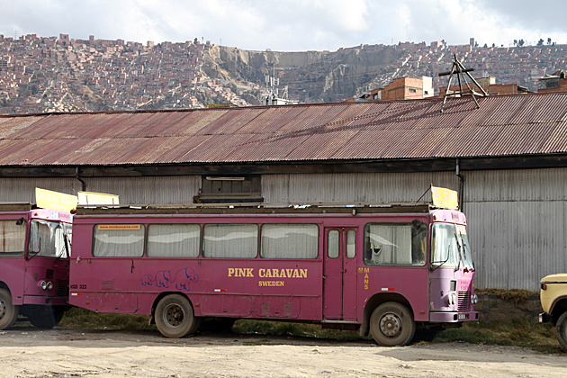 Pink Caravan La Paz