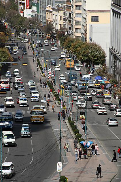 Street La Paz