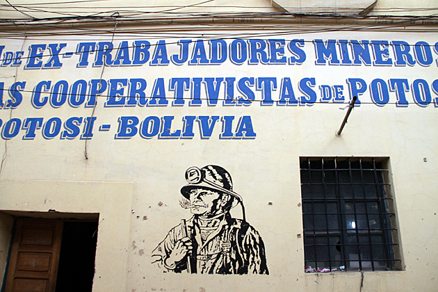 Retired Miners Bolivia