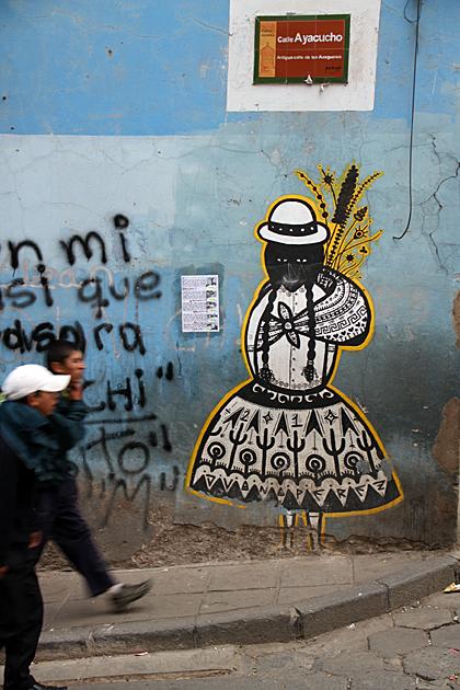 Graffiti Bolivia