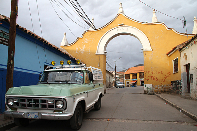 Gate Potosi