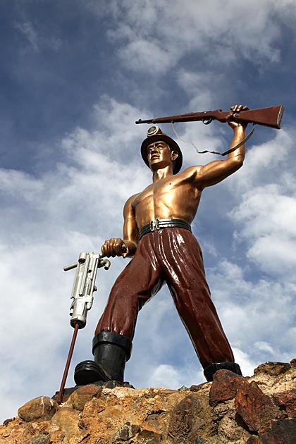 Miner Monument Potosi