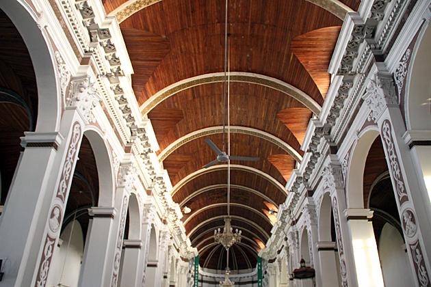 Wooden Ceiling Santa Cruz