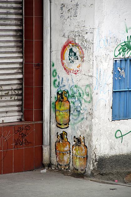 Gas Tank Art La Paz