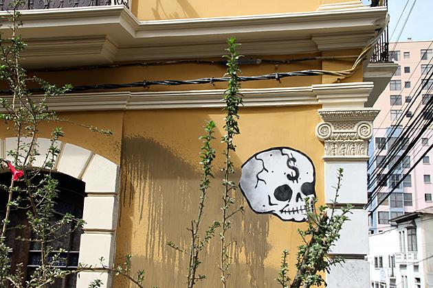 La Paz Dollar Skull