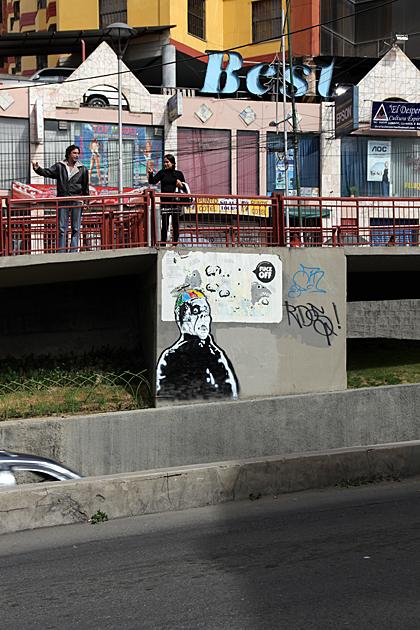 Street Art La Paz