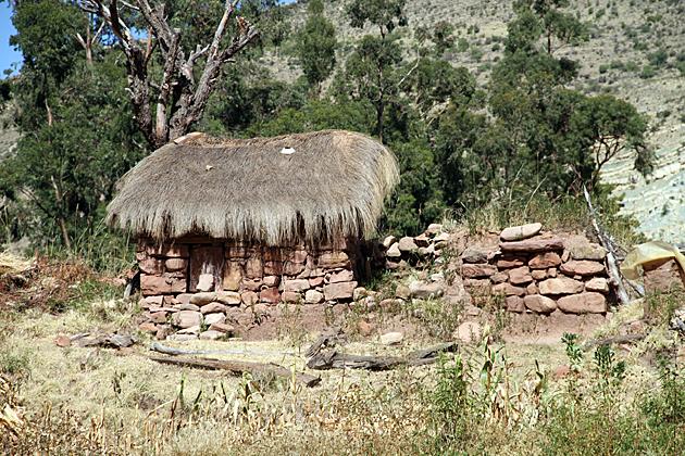 Bolivia Sucre Hut