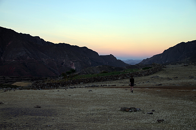 Sunset Bolivia