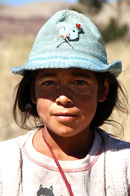 Girl Bolivia