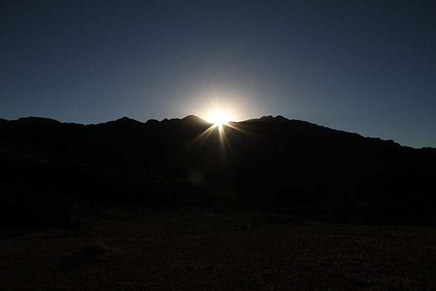 Sunrise Andes