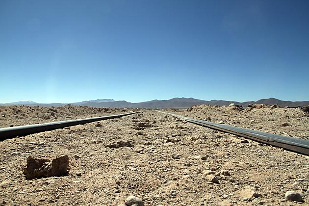 Dead Train Track