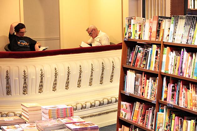 Balcony Reading Room