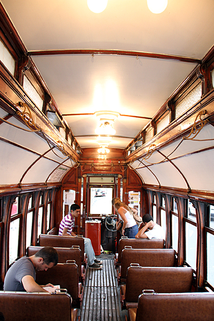 Old Tram Buenos Aires